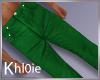 K green xmas pants