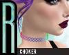 [R] 90s rainbow choker