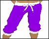Purple Casual Pants