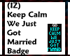 (IZ) Keep Calm Married