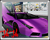 Purp Lamborghini w/Trigs