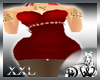 D* Femina Red dress XXL