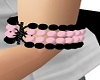Pink and Black Pearls