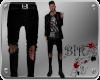 [BIR]Black,Denim