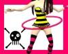 Pink Jelly Hula Hoop