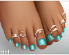 Beach Feet - Teal