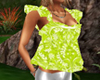 [MA] green summer top