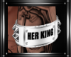 (L) Her King Armband (M
