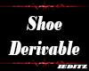 """Male Shoe Derivable"""""""