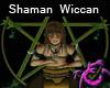Shaman Wiccan Drummer