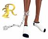 R22 Cuffs Silver Chain