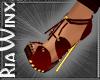 Cherry Cola Heels