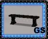 """""""GS"""" GARDEN BENCH 1"""