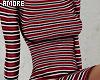 $ Striped Dress RLL