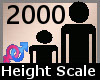Scale Height 2000% F A