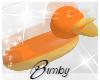 Duck Floaty Orange