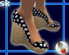 Wedge Heels - Black