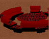 Red Celtic Sofa