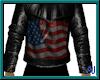 (A) USA Leather Jacket