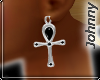 'JZ' Calandre Earrings