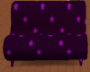 purple star couch
