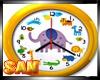 Relógio infantil real