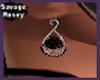 Ana Black Onyx Earrings