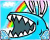 .R. Crayon Bunny Shark