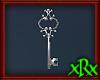 Fancy Key Decor Silver