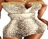 TD Golden Mini Dress