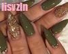 LV-Nails Gren+Rings
