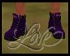 """JA"""" Couple Purple Boots"""