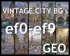 10 Vintage City BG's