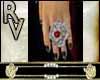 Ring rose red