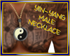 Yin-Yang Male Necklace