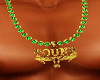 Titoune's gold chain