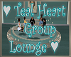 Teal Heart Group Lounge