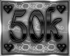 50k SUPPORT STICKER