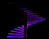Neon Spiral Stairs