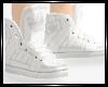 <3 White Adidas Shoes