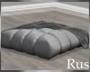 Rus Fall Square Pouf