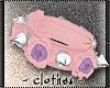 clothes - rose collar M