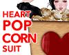 HEART POPCORN SUIT