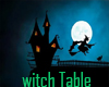 Witch  magick table