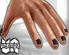va. black nails !