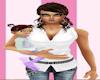 Baby Girl in Pastel
