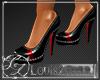 [LZ] Sexy Blk Red Heels