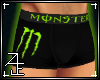Monster Boxers Green