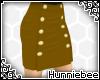 [H] Buttoned Mini Brown