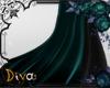 Mystic dark elven cape